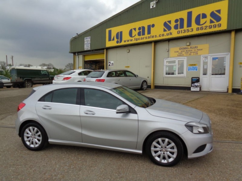 used Mercedes A180 CDI BLUEEFFICIENCY SE in ely-cambridgeshire