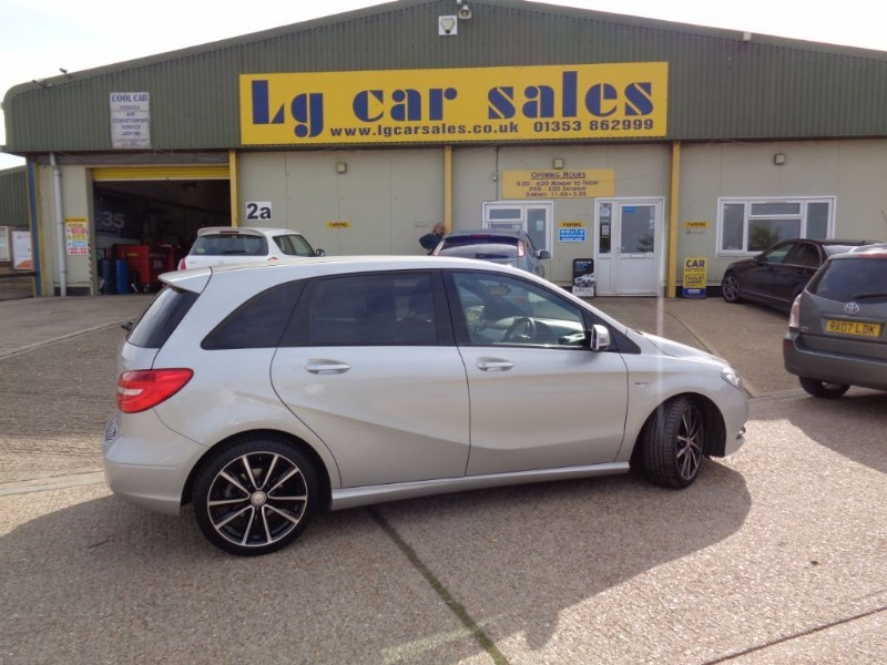 used Mercedes B180 CDI BLUEEFFICIENCY SPORT in ely-cambridgeshire