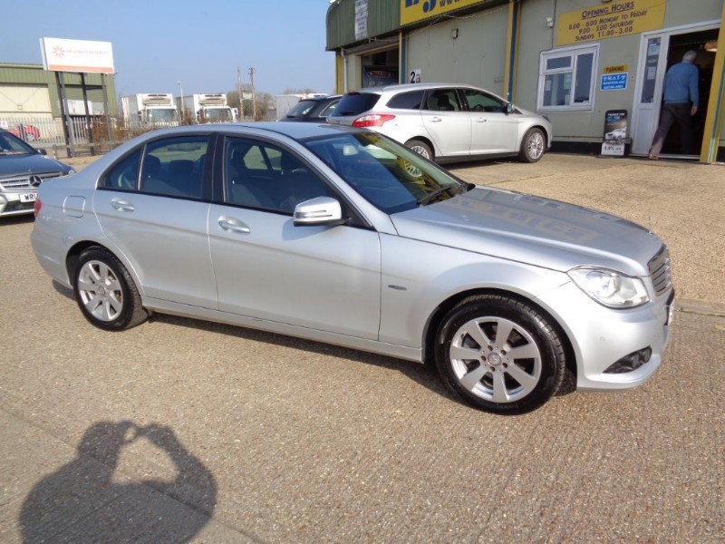 used Mercedes C220 CDI BLUEEFFICIENCY SE in ely-cambridgeshire