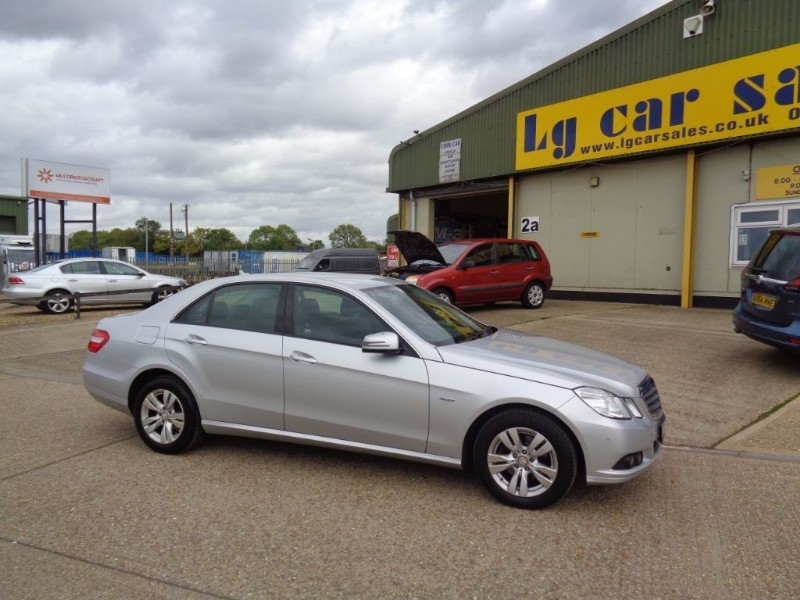 used Mercedes E200 CDI BLUEEFFICIENCY SE in ely-cambridgeshire