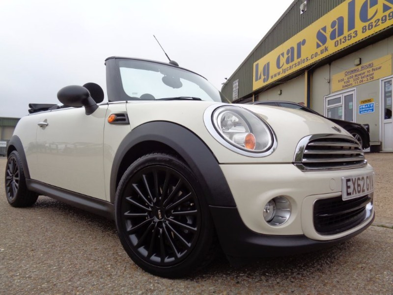 used MINI Convertible ONE in ely-cambridgeshire