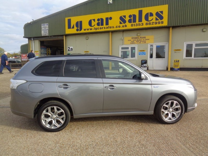 used Mitsubishi Outlander PHEV GX 3H in ely-cambridgeshire