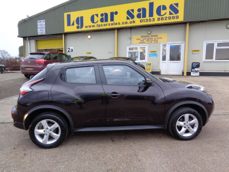 used Nissan Juke VISIA in ely-cambridgeshire