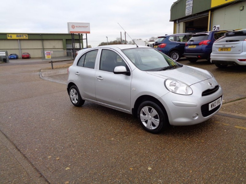 used Nissan Micra 30 VISIA in ely-cambridgeshire