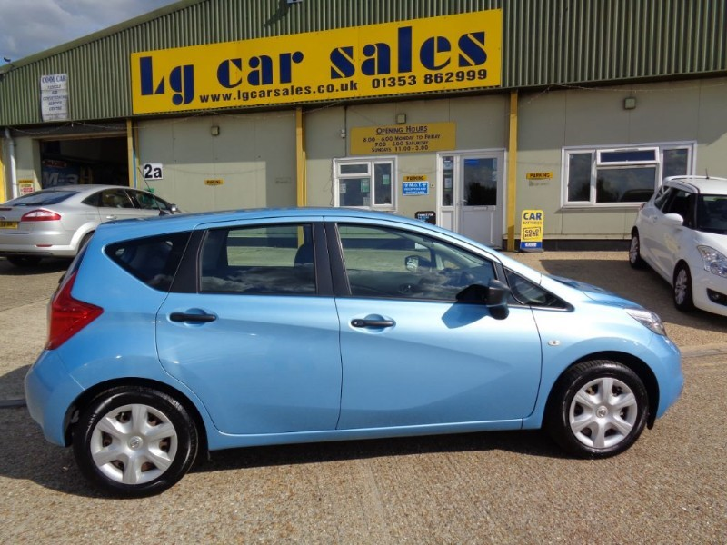 used Nissan Note DCI VISIA in ely-cambridgeshire