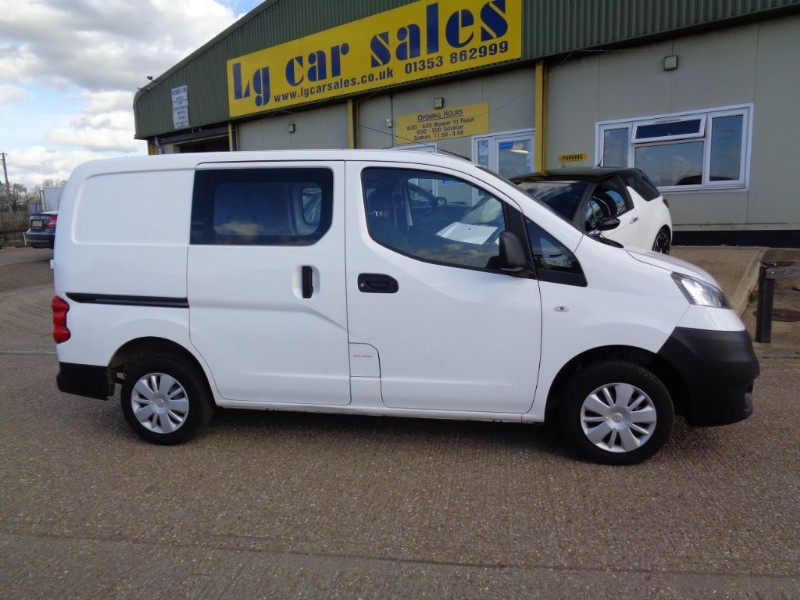 used Nissan NV200 DCI ACENTA in ely-cambridgeshire