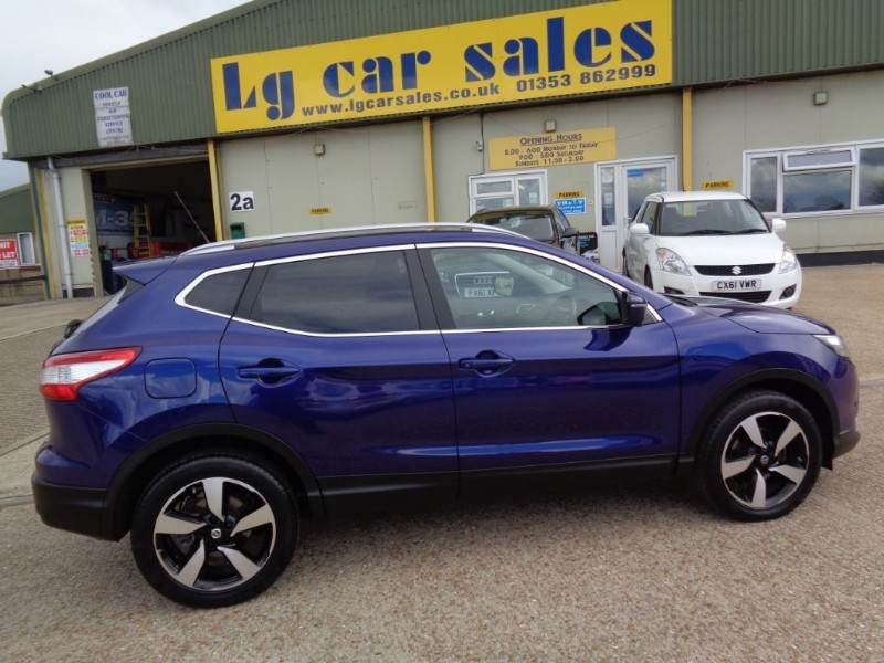 used Nissan Qashqai DCI N-TEC PLUS in ely-cambridgeshire