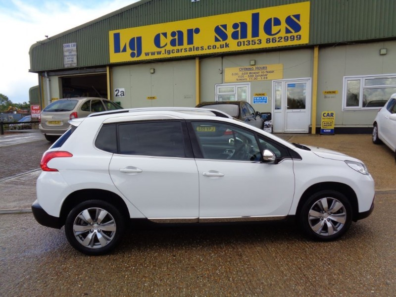 used Peugeot 2008 E-HDI ALLURE FAP in ely-cambridgeshire