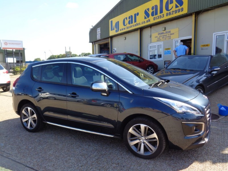 used Peugeot 3008 HDI ALLURE in ely-cambridgeshire