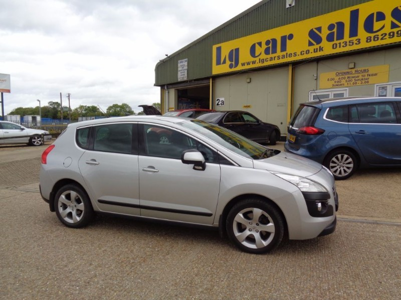 used Peugeot 3008 HDI SPORT in ely-cambridgeshire