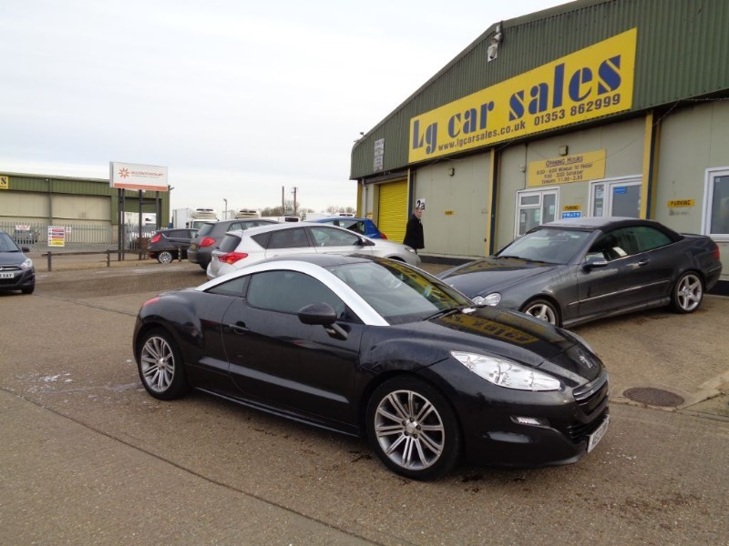used Peugeot RCZ HDI SPORT in ely-cambridgeshire