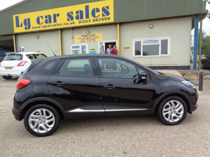used Renault Captur DYNAMIQUE MEDIANAV ENERGY DCI S/S in ely-cambridgeshire