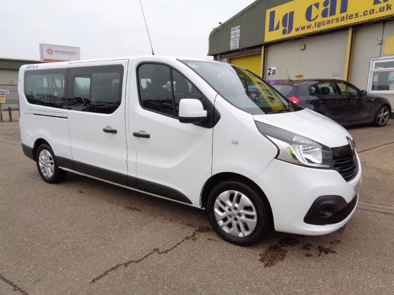 used Renault Trafic LL29 SPORT DCI LWB in ely-cambridgeshire