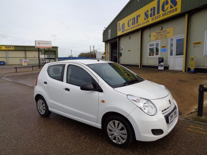 used Suzuki Alto SZ in ely-cambridgeshire