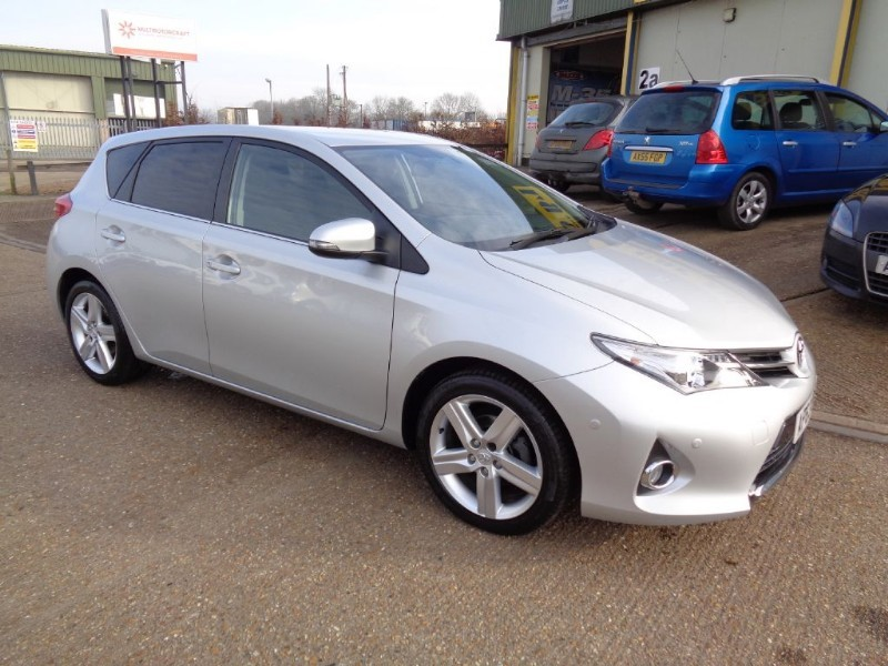 used Toyota Auris EXCEL VALVEMATIC in ely-cambridgeshire