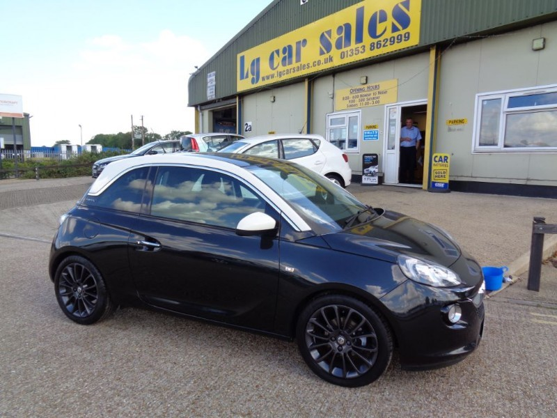 used Vauxhall Adam GLAM in ely-cambridgeshire