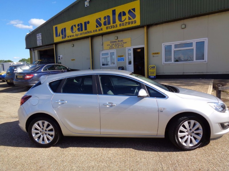 used Vauxhall Astra SE CDTI in ely-cambridgeshire