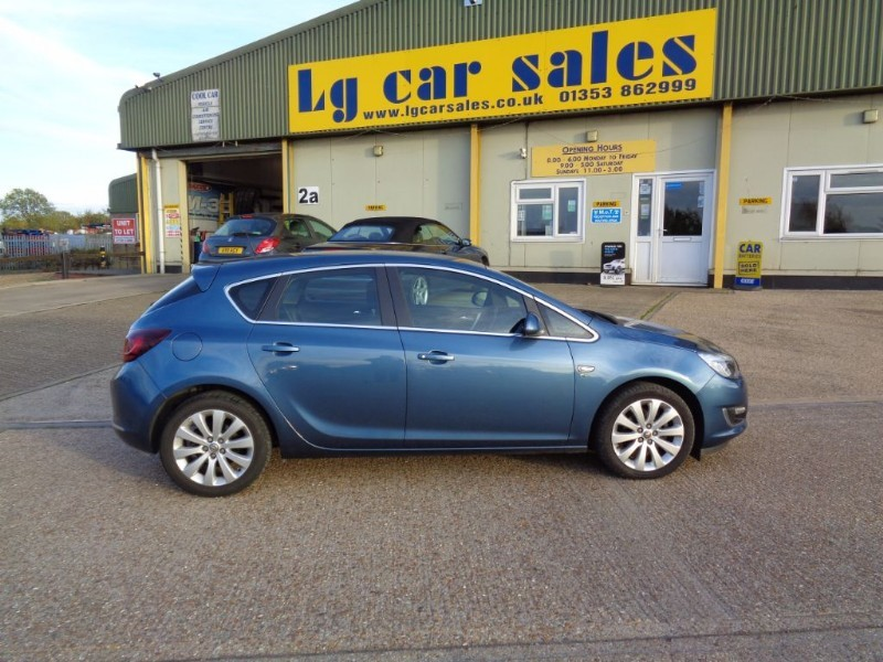 used Vauxhall Astra ELITE in ely-cambridgeshire