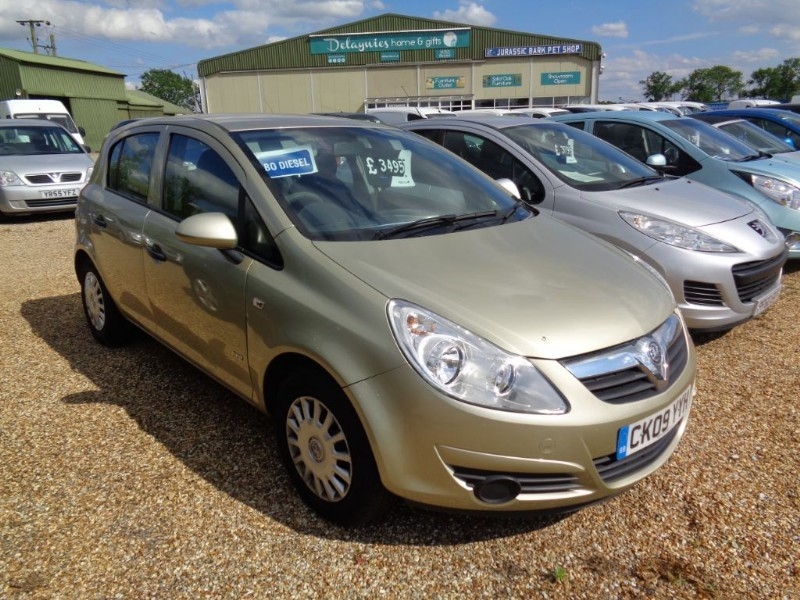 used Vauxhall Corsa LIFE A/C CDTI in ely-cambridgeshire