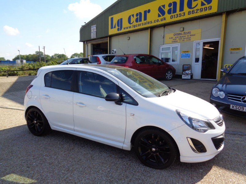 used Vauxhall Corsa LIMITED EDITION CDTI ECOFLEX in ely-cambridgeshire