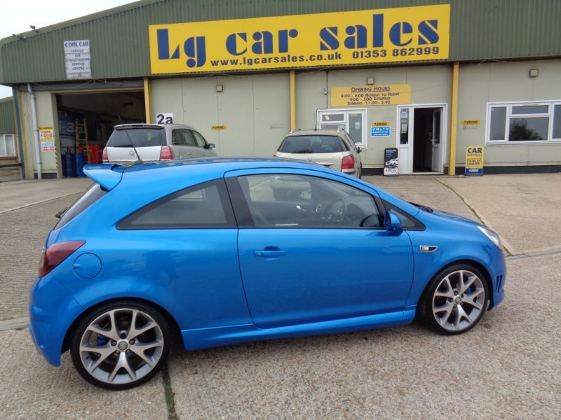 used Vauxhall Corsa VXR in ely-cambridgeshire
