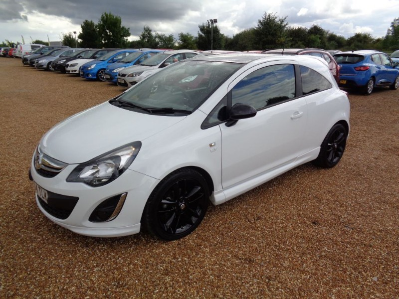 used Vauxhall Corsa LIMITED EDITION in ely-cambridgeshire