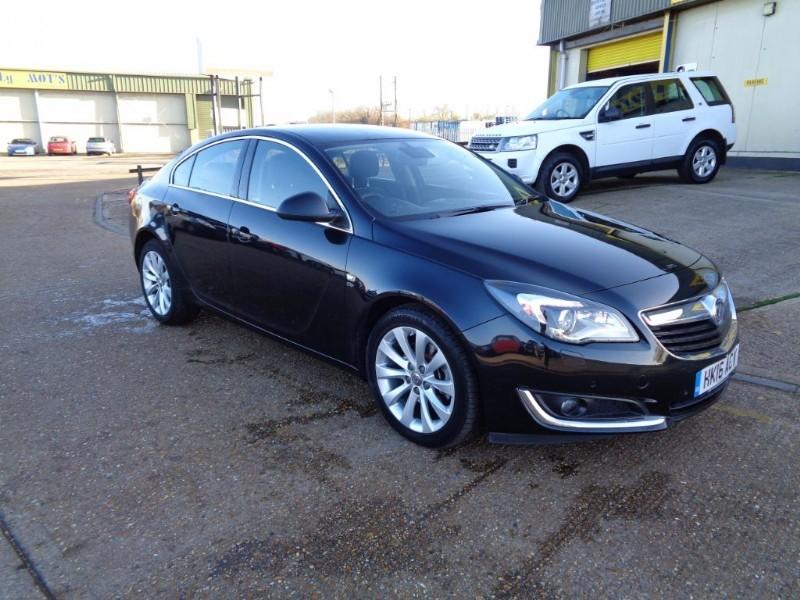 used Vauxhall Insignia ELITE NAV CDTI in ely-cambridgeshire