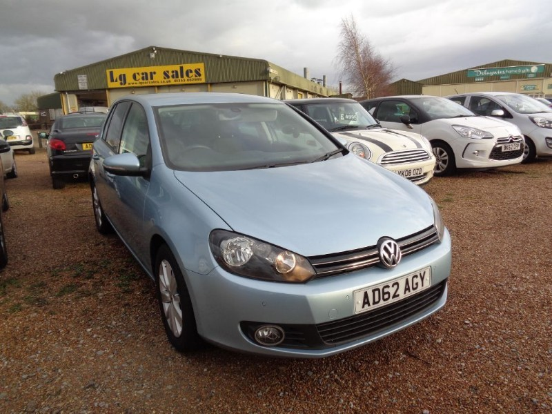 used VW Golf MATCH TDI BLUEMOTION TECHNOLOGY in ely-cambridgeshire