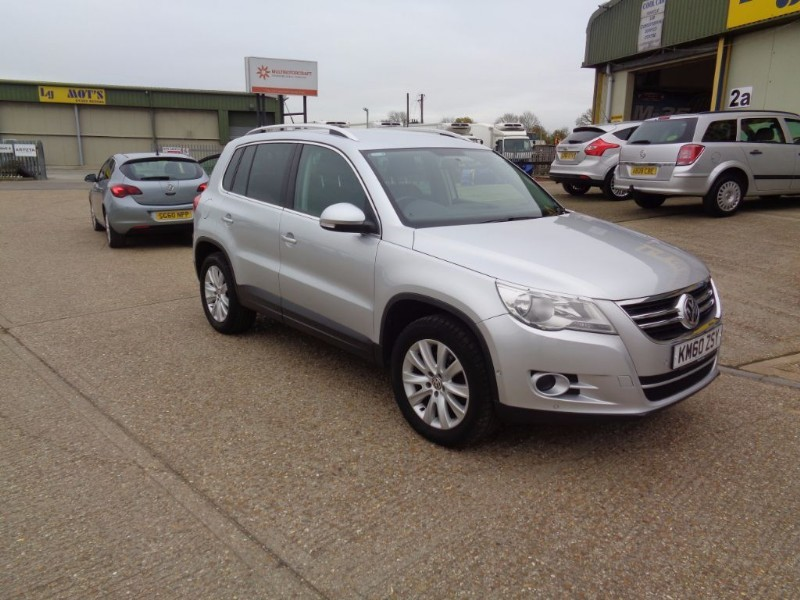 used VW Tiguan MATCH TDI 4MOTION in ely-cambridgeshire