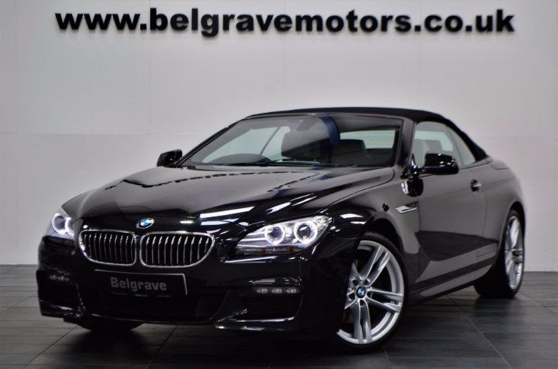 BMW 6 Series 640i M SPORT AUTO GREAT SPEC 20 ALLOYS CONVERTIBLE