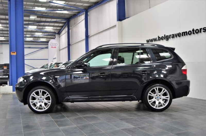 bmw x3 d auto m sport full leather heated seats 4x4 42 mpg. Black Bedroom Furniture Sets. Home Design Ideas