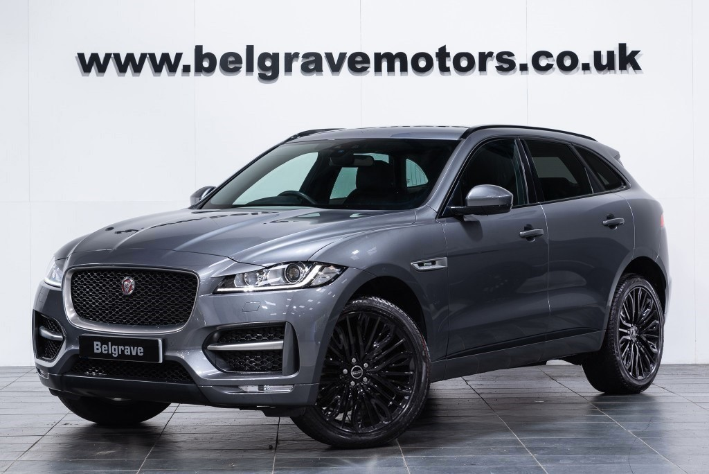 Jaguar F Pace Belgrave Motor Company South Yorkshire