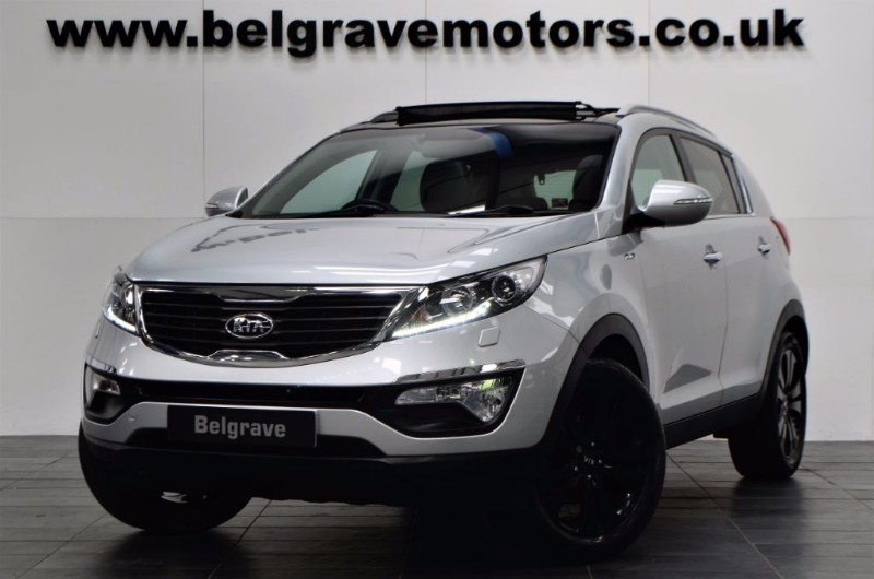Kia Sportage Kx 3 Awd Huge Spec Pan Roof Leather 4wd For