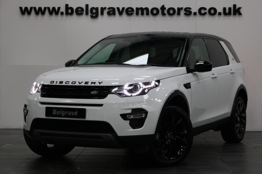 Land Rover Discovery Sport Belgrave Motor Company South Yorkshire