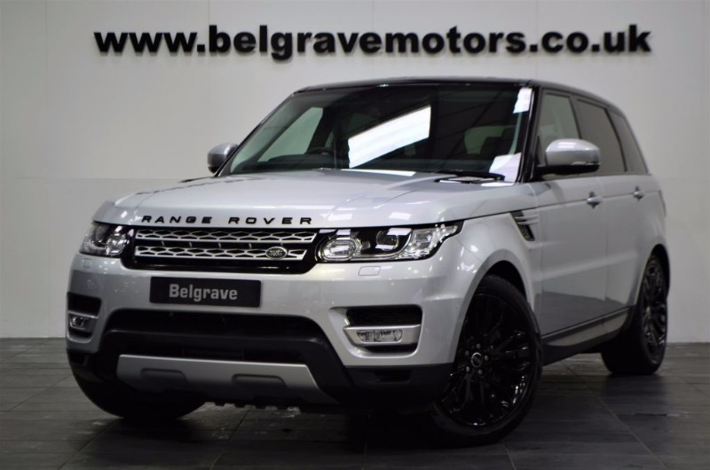 land rover range rover sport sdv6 hse pan roof 21 dynamic alloys 306 bhp 40 mpg for sale in. Black Bedroom Furniture Sets. Home Design Ideas