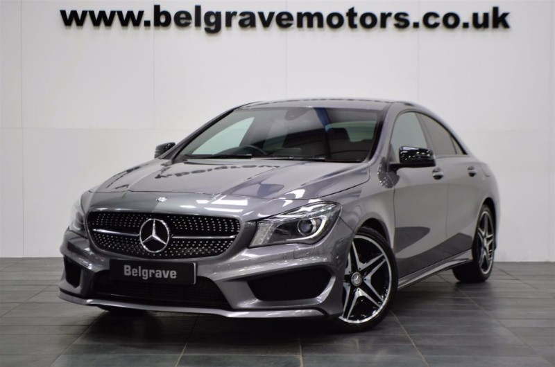 mercedes cla class cla 220 cdi auto cla 220 d amg sport sat nav 177 bhp 20 tax 67 mpg for sale. Black Bedroom Furniture Sets. Home Design Ideas