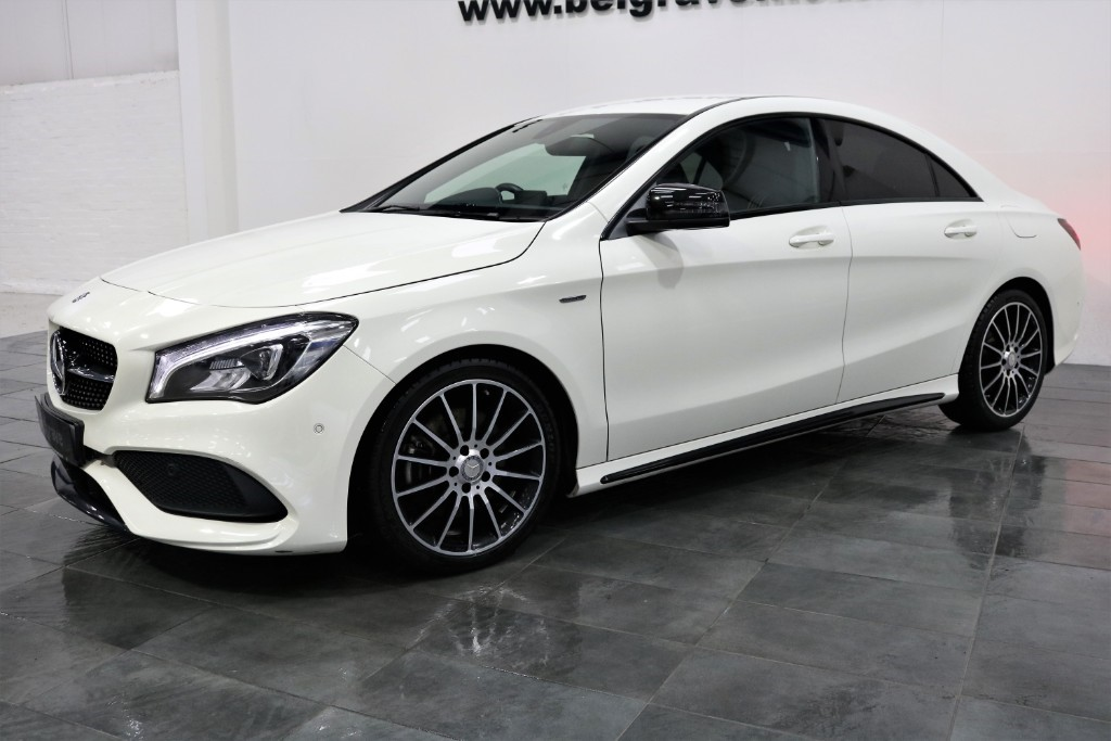 mercedes cla class cla 220 cdi cla 220 d auto amg whiteart edition 4dr coupe 68 mpg for sale in. Black Bedroom Furniture Sets. Home Design Ideas