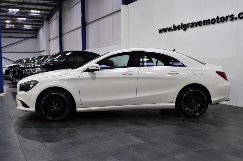 mercedes cla class cla180 cla 180 auto sport 18 amg line alloys 4dr 51 mpg for sale in. Black Bedroom Furniture Sets. Home Design Ideas