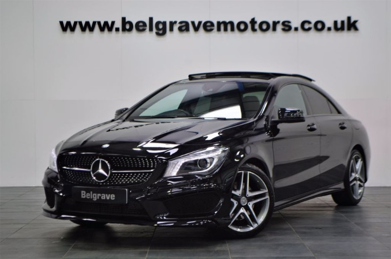 mercedes cla class cla250 cla 250 amg sport 4matic auto. Black Bedroom Furniture Sets. Home Design Ideas