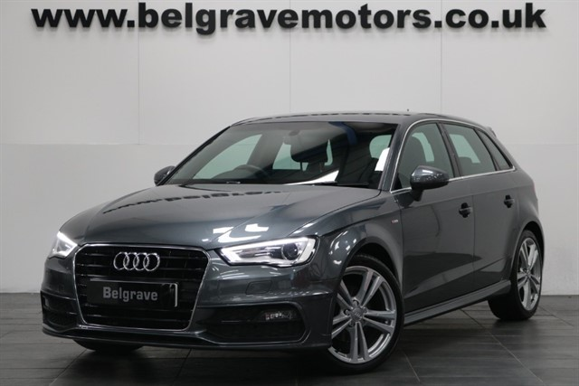 used Audi A3 TDI S LINE 150 BHP 5DOOR BEST COLOUR CHEAP TAX 67+MPG in sheffield