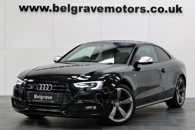 used Audi S5 TFSI QUATTRO S LINE BLACK EDITION COUPE GREAT SPEC 2DR 333 BHP 4WD in sheffield