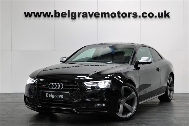 used Audi S5 TFSI QUATTRO S LINE BLACK EDITION GREAT SPEC SAT NAV TECHNOLOGY PACK 333 BHP in sheffield