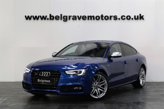 used Audi S5 SPORTBACK TFSI QUATTRO BLACK EDITION - RESERVED in sheffield