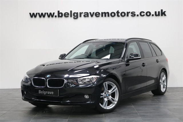 used BMW 320d EFFICIENTDYNAMICS BUSINESS TOURING 18