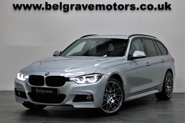 used BMW 330d XDRIVE M SPORT TOURING 19