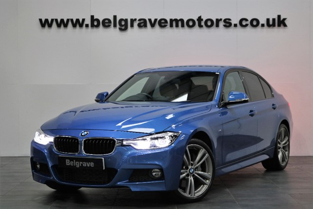 used BMW 335d XDRIVE M SPORT AUTO HEATED LEATHER LED LIGHTS SAT NAV 4WD 50+MPG in sheffield