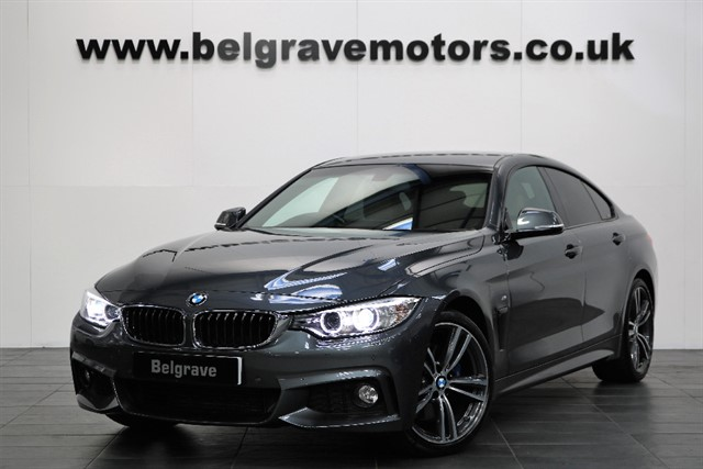 used BMW 420d M SPORT GRAN COUPE PLUS PACK 19