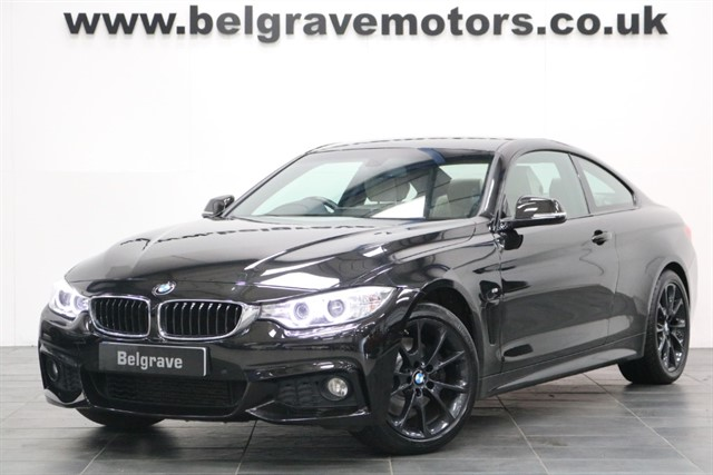 used BMW 428i M SPORT SAT NAV FULL INDIVIDUAL LEATHER 245 BHP in sheffield