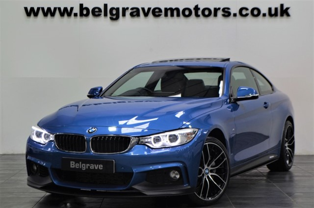 used BMW 435d XDRIVE M SPORT M PERFORMANCE STYLING 19