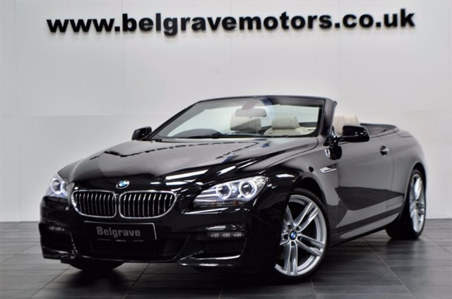 """used BMW 640i M SPORT AUTO GREAT SPEC 20"""" ALLOYS CONVERTIBLE in sheffield"""